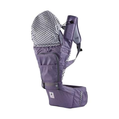 Mumsandbabes - Pognae No.5 Waterproof Outdoor Hipseat Carrier - Purple