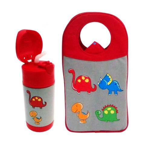 Mumsandbabes - Arvita Dino Lunch Bag + Free Arvita Water Dino Thermos Bottle