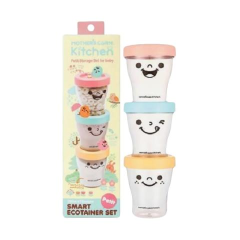 Mumsandbabes - Mother's Corn Petit Smart Eco Trainer Set Peralatan Makan [200 mL]