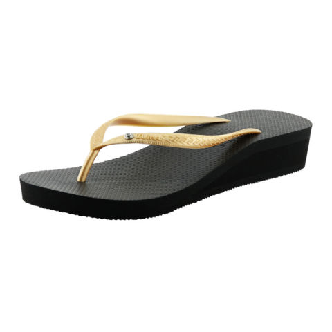 Mumsandbabes - ZUMA - Sandal Wedges Zuma Tiffany - Black Gold
