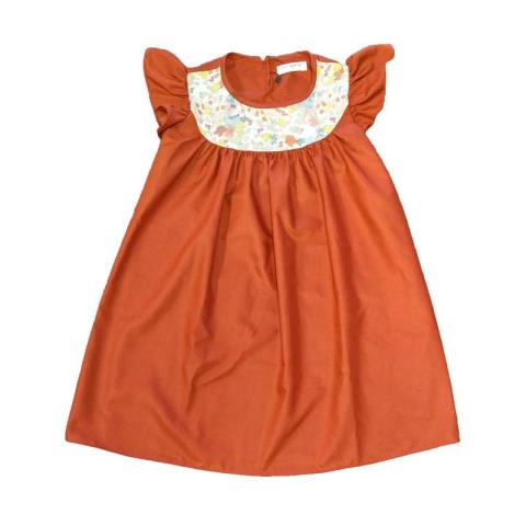 Mumsandbabes - Petit Monstre Hillary Pale Flower Dress Bayi M
