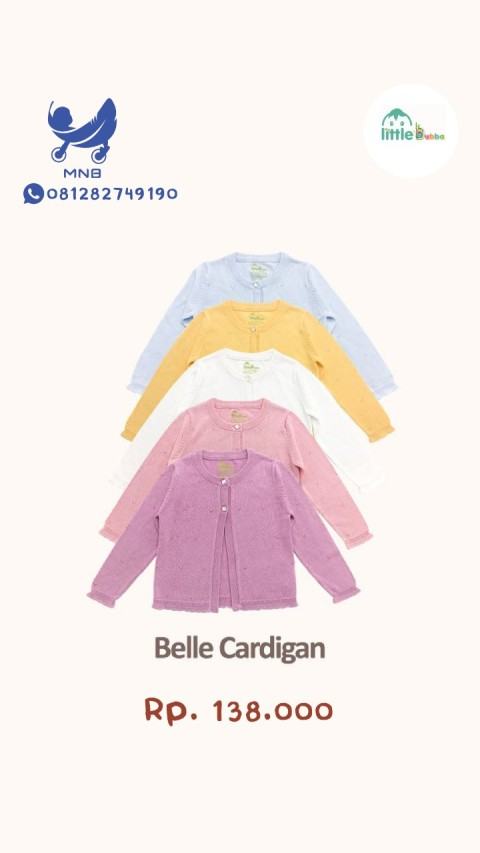 Mumsandbabes - Little Bubba Belle Cardigan