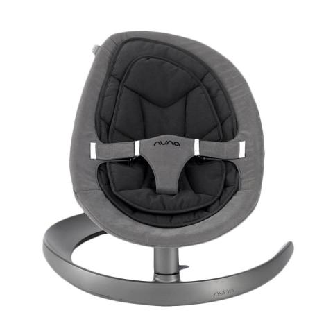 Mumsandbabes - Nuna Baby Bouncer - Curv Cinder (Single Pad) Grey