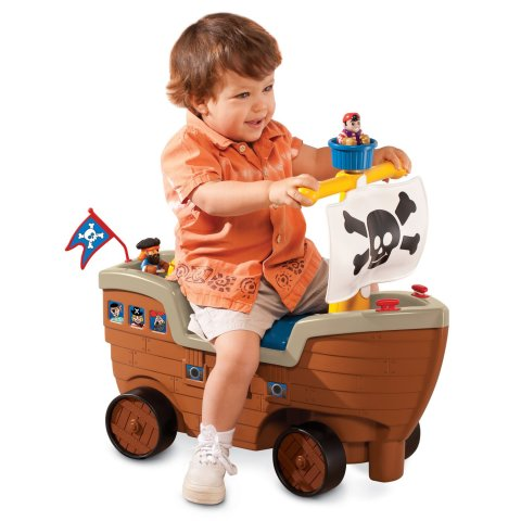 Mumsandbabes - Little Tikes play n scoot pirate ship