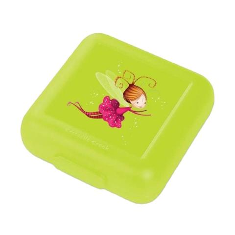 Mumsandbabes - Crocodile Creek Sandwich Fairy Lunch Box - Lime