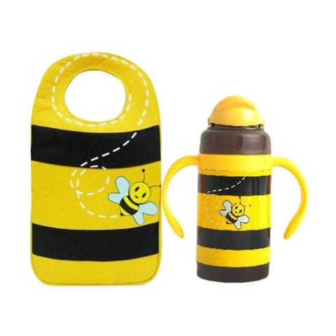Mumsandbabes - Arvita Bee Lunch Bag + Free Arvita Water Bee Thermos Bottle
