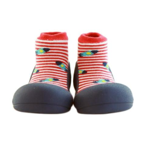 Mumsandbabes - Attipas Ufo Baby Shoes - Red L Red