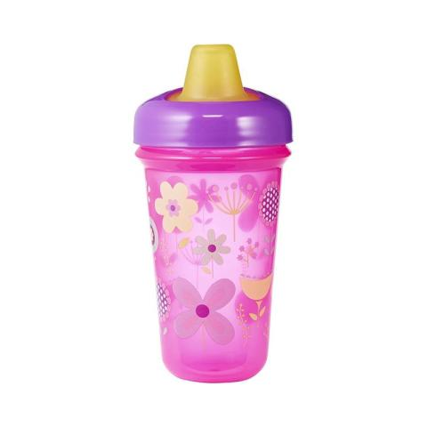 Mumsandbabes - The First Years Stackable 9oz Soft Spout Cups - Pink