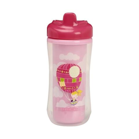 Mumsandbabes - Dr. Brown's Hard Spout Insulated Cup 300ml - Pink Pink