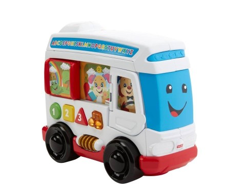 Mumsandbabes - FISHER PRICE Laugh & Learn Bus DYM77