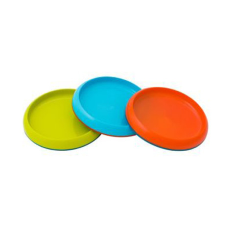 Mumsandbabes - Boon 11025 Girl Plate Alat Makan Bayi [3 pcs] - Green Blue Orange