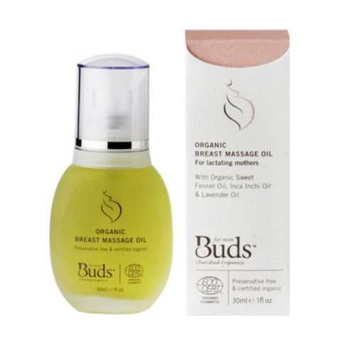 Mumsandbabes - Buds Organic Breast Massage Oil [30 mL]