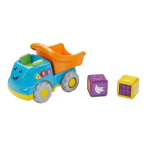 Mumsandbabes - Fisher Price FGW36 First Word Fill & Dump Truck
