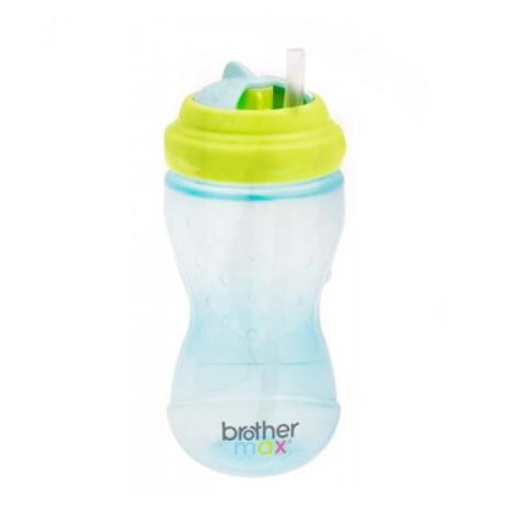 Mumsandbabes - Brother Max Twist and Go Sipper Drink Cooler [360 mL] Blue Green