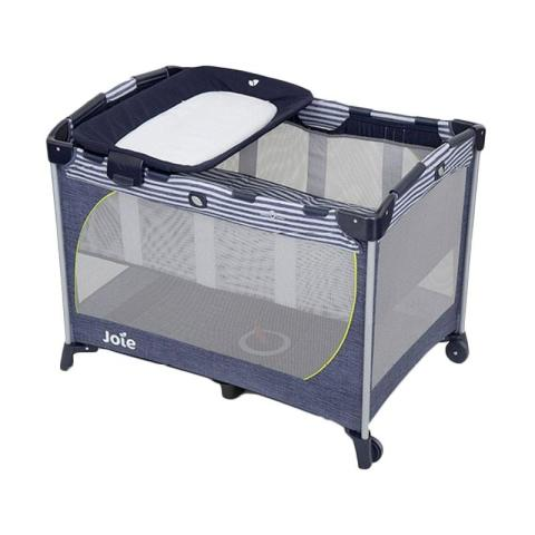 Mumsandbabes - Joie Box Communter cot Denim