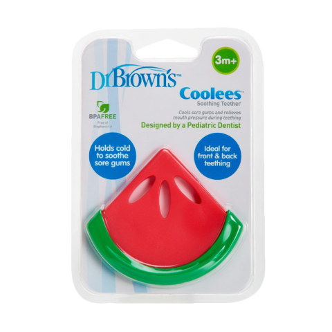 Mumsandbabes - Dr. Brown's Soothing Coolees Watermelon TE220-P2 Teether