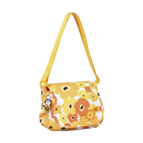 Mumsandbabes - Okiedog Genie Flower Power Diaper Bag - Yellow