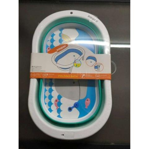 Mumsandbabes - Paopao Mega Folding Bath Green