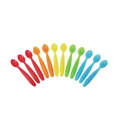 Mumsandbabes - The First Years Take & Toss Infant Spoons Peralatan Makan 16pk