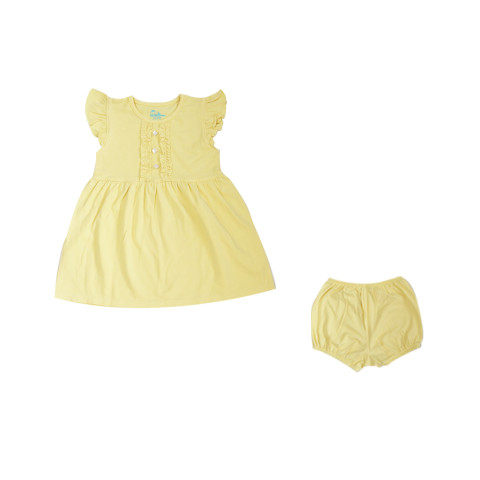 Mumsandbabes - Little Bubba Aurora Dress Set - Sun Flower