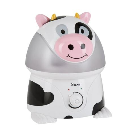 Mumsandbabes -  Crane USA Adorables Cow Air Humidifier