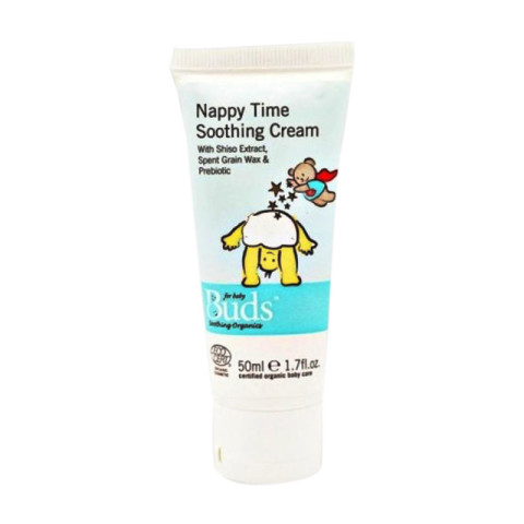 Mumsandbabes - Buds Organics Nappy Time Soothing Cream [50 mL]