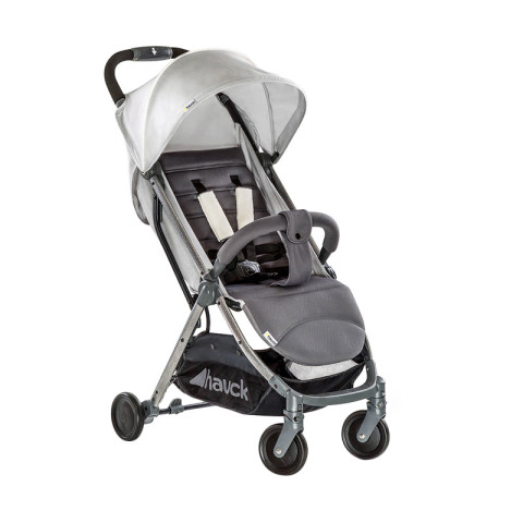 Mumsandbabes - Hauck Swift Plus Stroller + Free Travel Bag - Lunar Moon