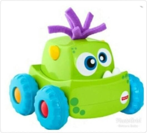 Mumsandbabes - Fisher Price - DRG16FP Infant press n go vehicle ast Green
