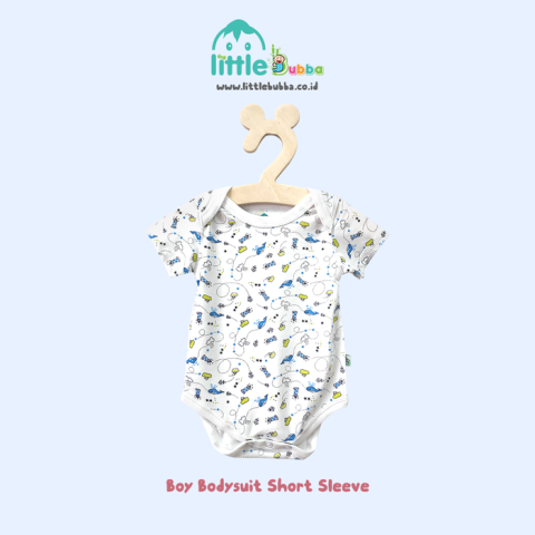 Mumsandbabes - little bubba bodysuit galaxy