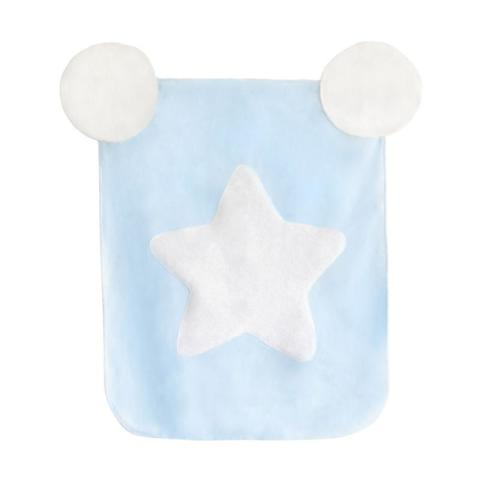 Mumsandbabes - Dr. Bebe Blanket Cotton Candy - Star 85x105 Solid
