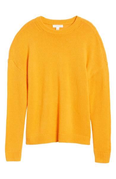 x Something Navy Crewneck Sweater