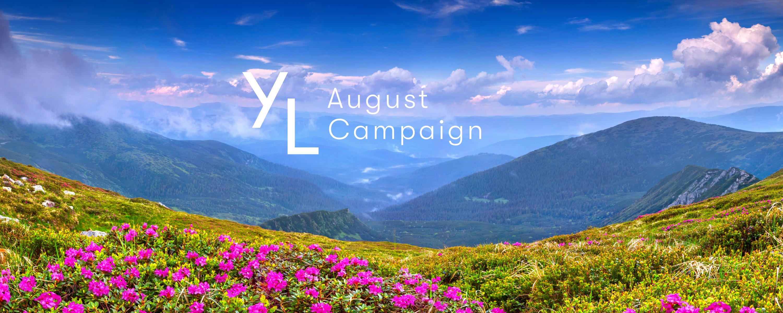 8月1日(日)~8月25日(水)YLおトク便限定キャンペーン|心地良いエッセンシャルオイルの香りで、素敵な夏を。