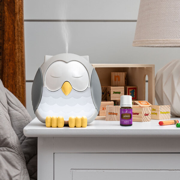Feather the Owl diffuser with Lavender Essential Oil
