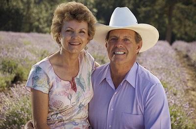 D. Gary Young and Mary Young founders of Young Living Essential Oils