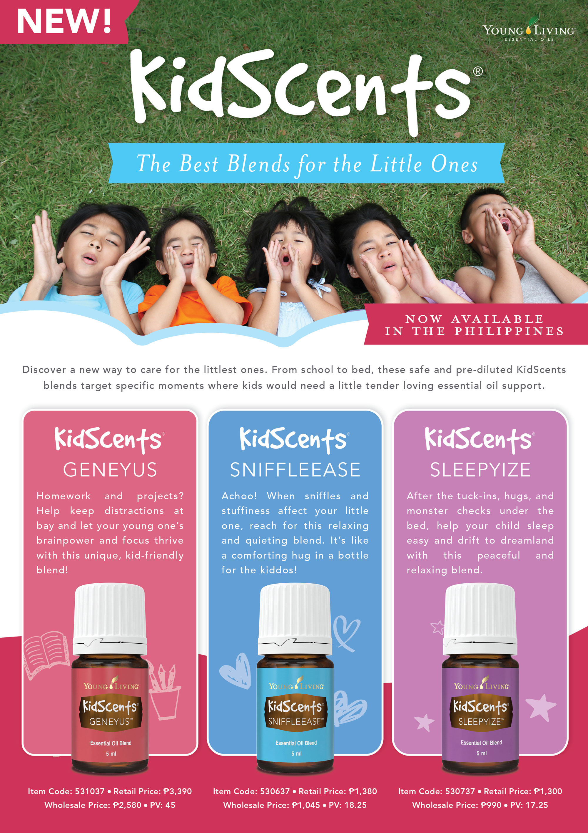 Kidscents Young Living Philippines Young Living Essential Oils