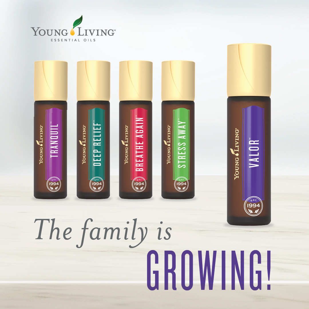Introduction To Valor Roll On Young Living Essential Oils