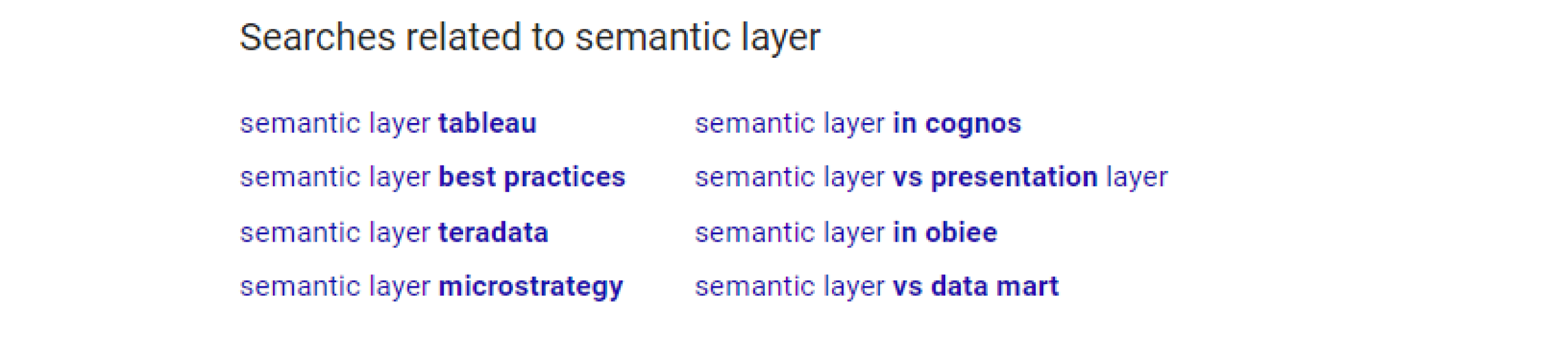 What is a Semantic Layer? Why Would You Want One? | AtScale