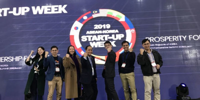 Burket Joins Philippine Delegation to the  ASEAN-Korea Startup Week