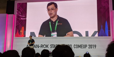 Burket Makes Its Pitch at the ASEAN-ROK Startup Expo