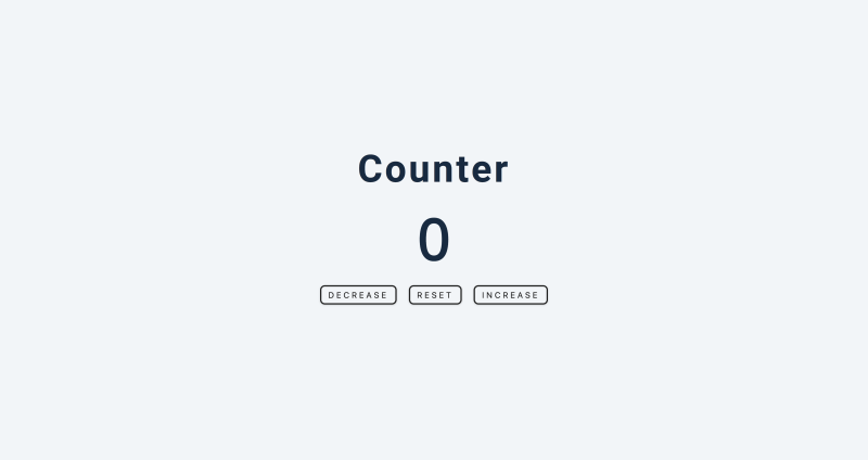 simple counter