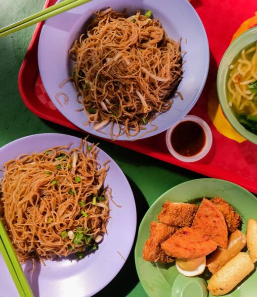 Ultimate guide to food courts in Singapore header image