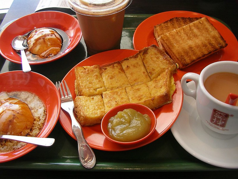 Kaya Toast - Best food in Singapore