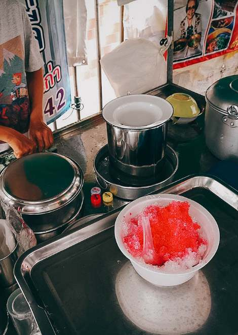 Cool down with one of Phuket's famous iced desserts