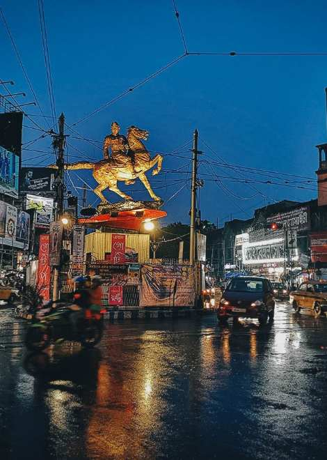The northern district of Kolkata is rarely visited by foreigners