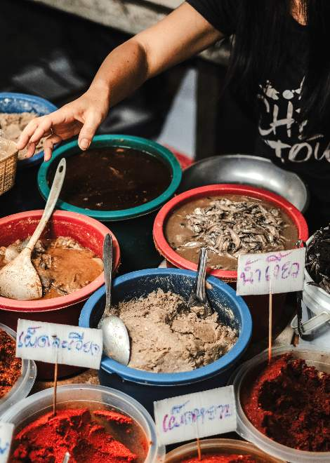 A food tour which shows you the true flavours of Chiang Mai
