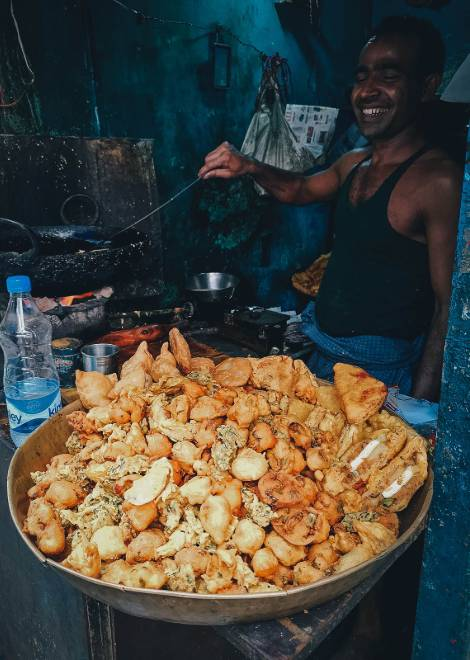 You'd never find these street vendors alone