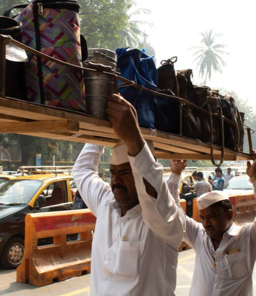 A day in the life of a Mumbai dabbawala header image