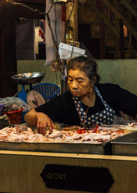 Explore one of the oldest markets in Bangkok