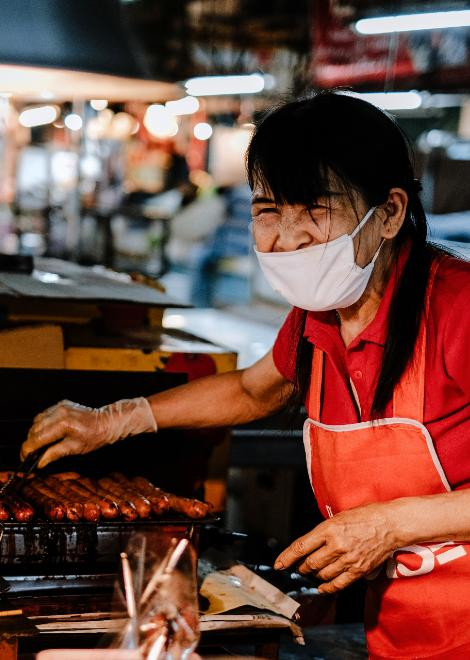 The people who've dedicated their lives to street food