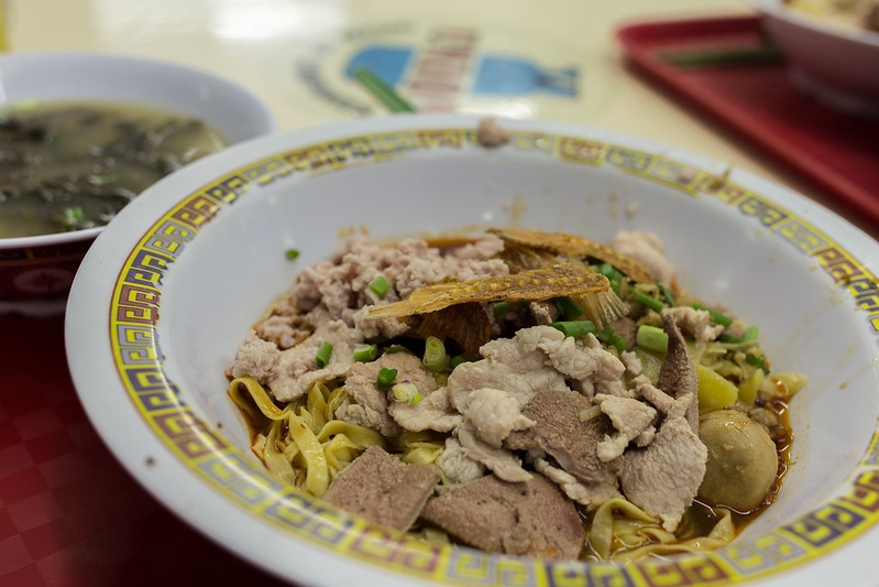 Bak chor mee - best hawker food in Singapore